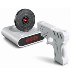 """Часы-будильник """"Целься, стреляй!"""""""