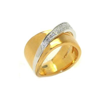 Кольцо с цирконом PIERRE CARDIN