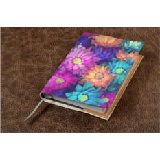 Кожаный ежедневник Поле цветов