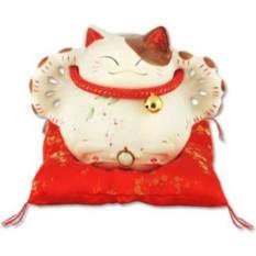 Кот-копилка Манеки-неко Много денег, удачи и посетителей!