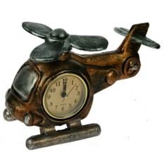 Настольные часы-термометр Вертолет