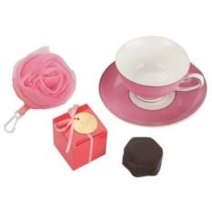 Розовый набор Цветущая роза