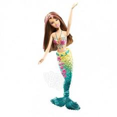 Кукла барби русалка изменяет цвет