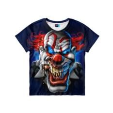 Детская 3D-футболка Клоун