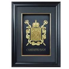 Герб Санкт-Петербурга объемный