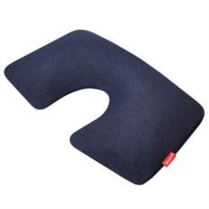 Надувная подушка для путешествий First Class цвета индиго