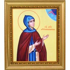 Аполлинария Египетская Святая преподобная, икона на холсте