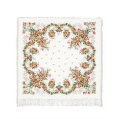 Павлопосадский шелковый платок Первое свидание