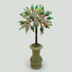 Дерево из нефрита и оникса Божественная мудрость