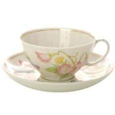 Фарфоровый чайный сервиз на 6 персон Душистый горошек