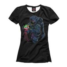 Женская футболка Космическая медуза