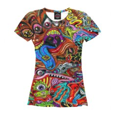 Женская футболка Overdose