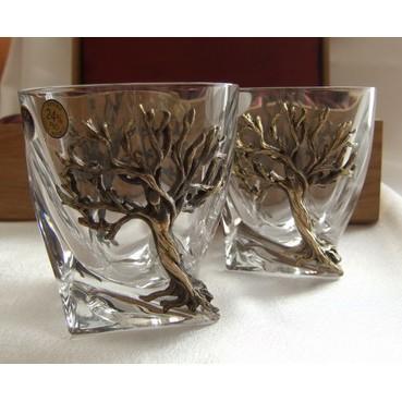 Набор стаканов для виски «Зазеркалье»