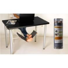 Гамак для ног под рабочий стол в тубусе GREY