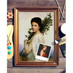 Портрет по фото Ветвь лавра
