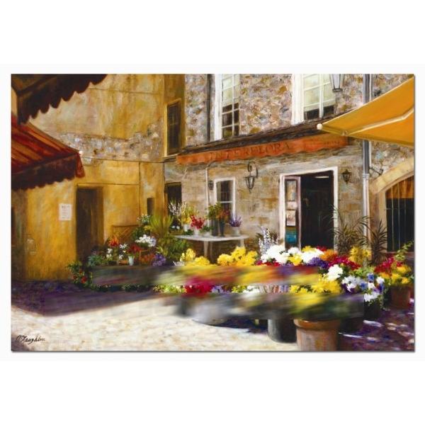 Пазл «Цветочный магазин»