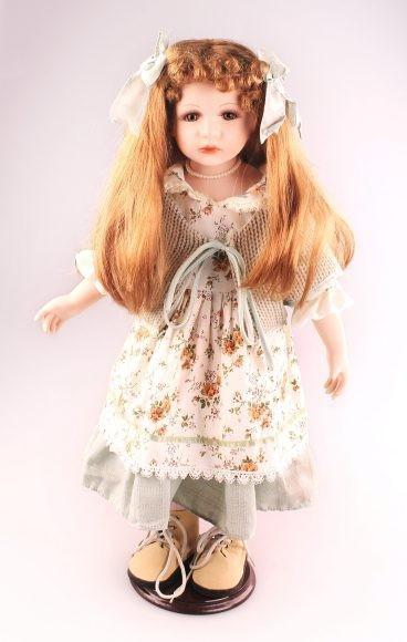 Кукла фарфоровая Кэрол