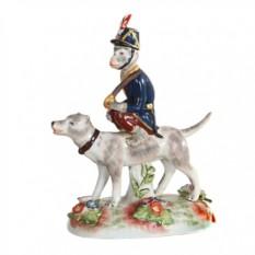 Статуэтка Обезьяна и собака
