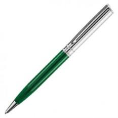 Зелено-серебристая шариковая ручка Voyage