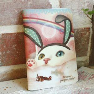 Обложка для паспорта Bunny Cat