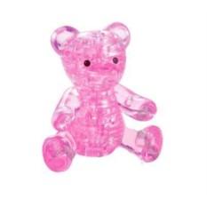 3D головоломка Розовый мишка