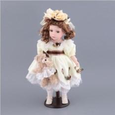 Фарфоровая кукла, высота 48 см