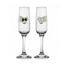 Набор свадебных бокалов №35