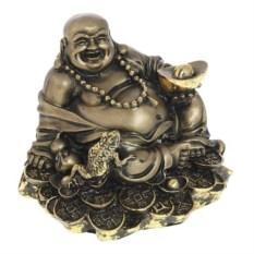 Декоративная фигурка, покрытая сусальным золотом Хотей