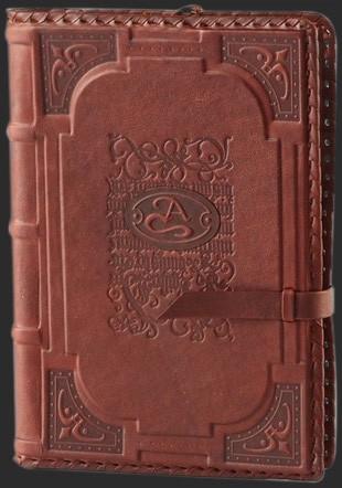 Кожаный недатированный ежедневник Almanac