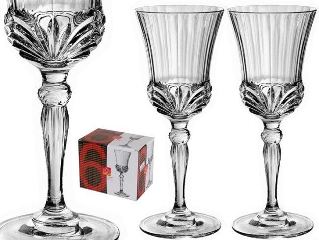 Набор из 6 бокалов для вина 200 мл RCR Аурея