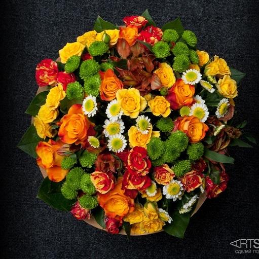 Букет цветов Солнечный день