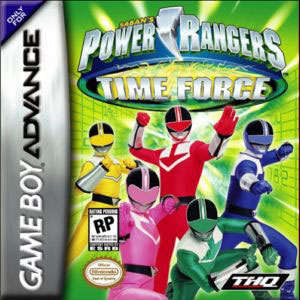 Игра для Game Boy Advance: Могучие Рейнджеры