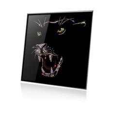 Картина с кристаллами Swarovski Багира