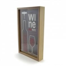 Копилка для винных пробок Wine white