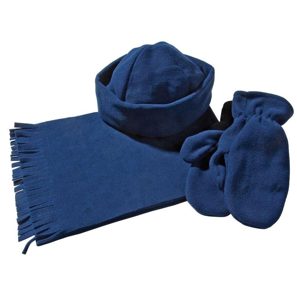 Комплект Unit Fleecy: шарф, шапка, варежки.