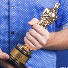 Статуэтка Оскар (искусственный камень, серебро, лак)
