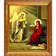 Икона на холсте Благовещение Пресвятой Богородицы