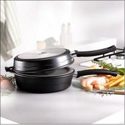 Сковорода Duetto double pan