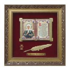Большое православное панно Матрона