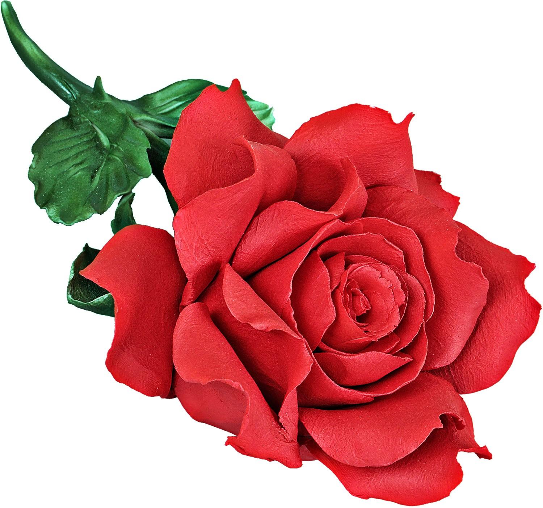 Скульптура «Цветок любви» фарфор