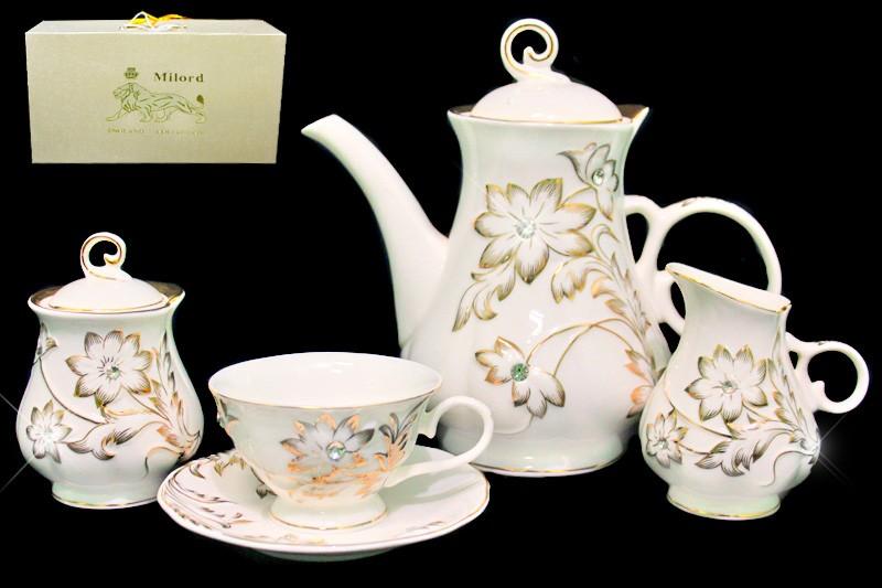 Чайный сервиз (17 предметов)