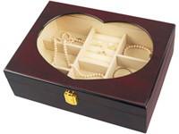 Шкатулка деревянная «Сердечко»