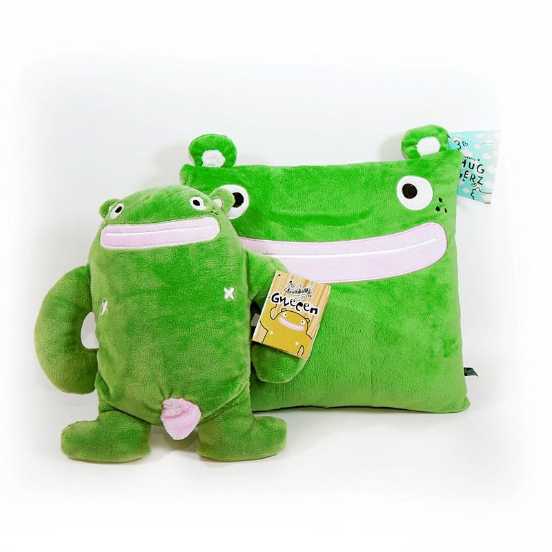Плюшевая игрушка Dooodolls Doo Gweeen