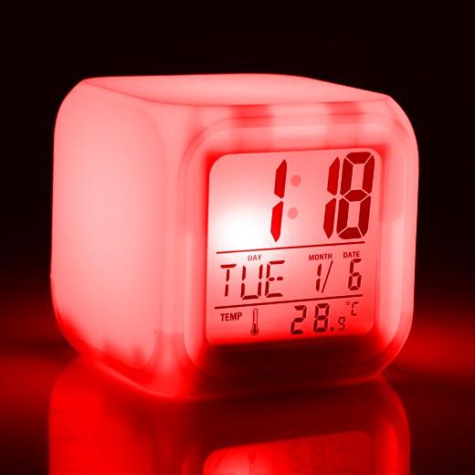 Часы-релаксатор Светокуб