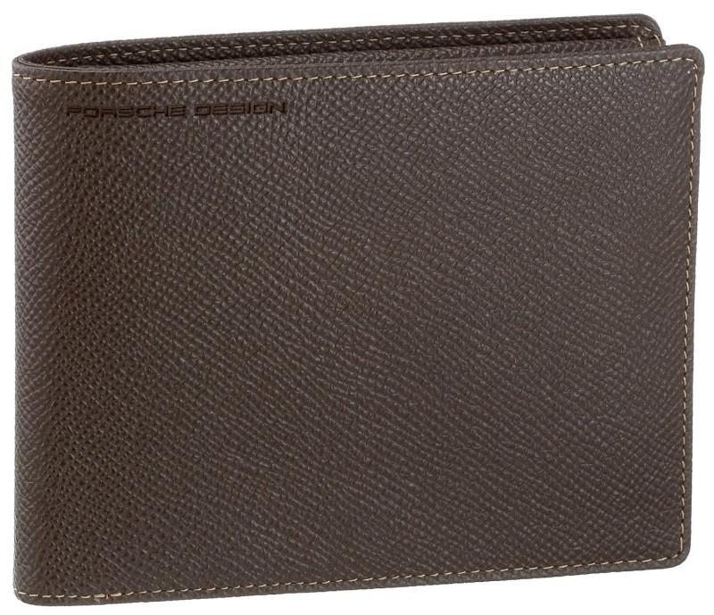 Бумажник Porshe Design Н9, коричневый