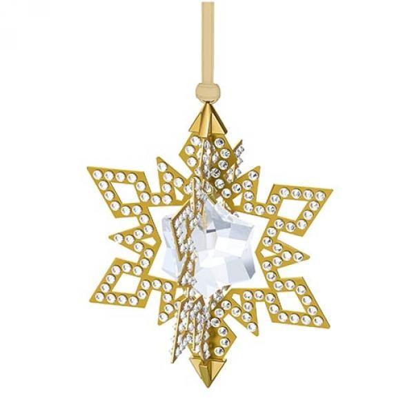 Рождественское украшение «Золотая звезда» от Swarovski
