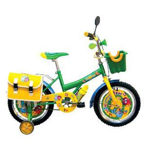 Велосипед-смешарик Крош и Ежик