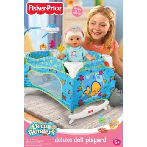 Манеж-кровать Fisher Price