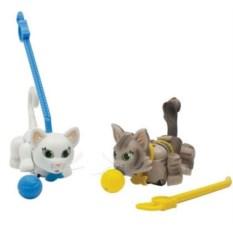 Фигурки кошечек с мячиком и поводком Pet Club Parade