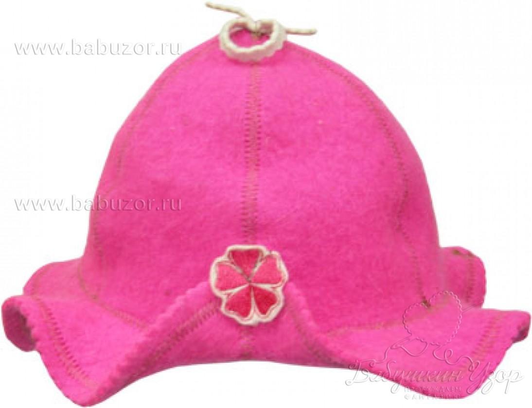 Шляпка банная Роза